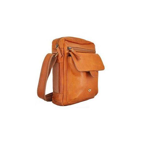 Take away 5 torba skórzana na ramię sportowa skóra naturalna firmy produkt unisex marki Daag