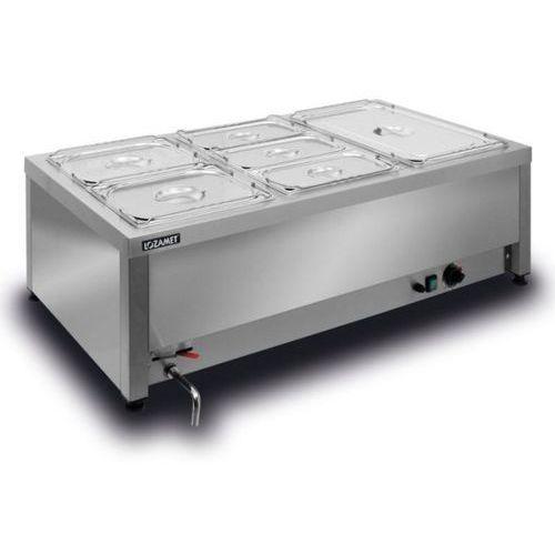 Bemar elektryczny stołowy 3xgn 1/1 200 mm bsw.3gn marki Lozamet