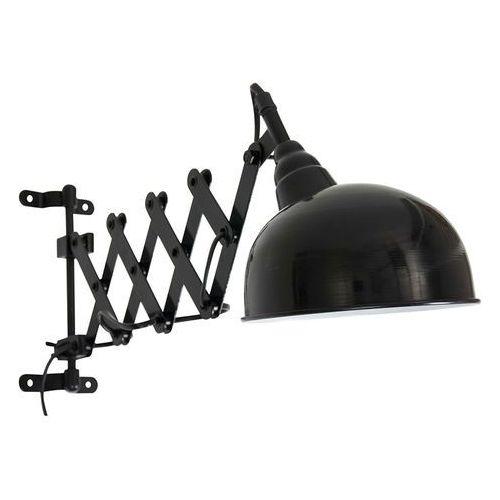Przemysłowy kinkiet czarny regulowany - merle marki Steinhauer