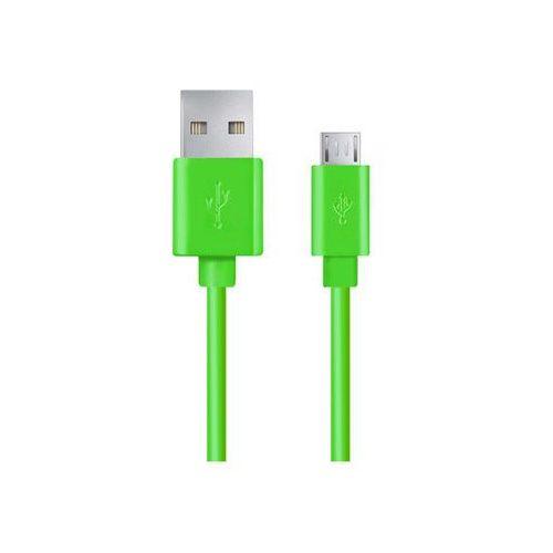 Esperanza  kabel micro usb 2.0 a-b m/m 1.0m eb143g zielony
