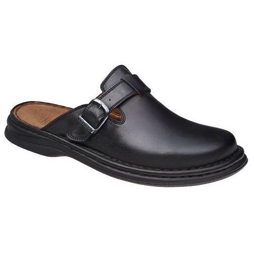 Klapki buty 10122 madrid czarne, Josef seibel