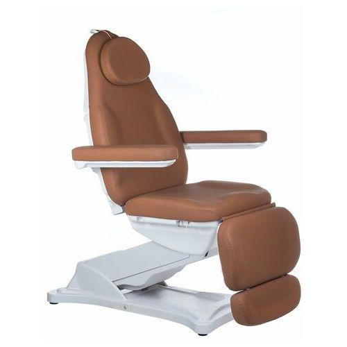 Beauty system Elektryczny fotel kosmetyczny modena bd-8194 brązowy