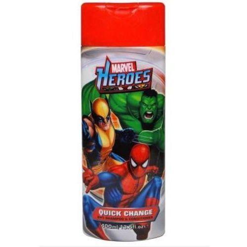 Marvel Corsair, heroes 2in1 shampoo&conditioner. szampon i odżywka 2w1, 400ml - corsair (5013692225267)