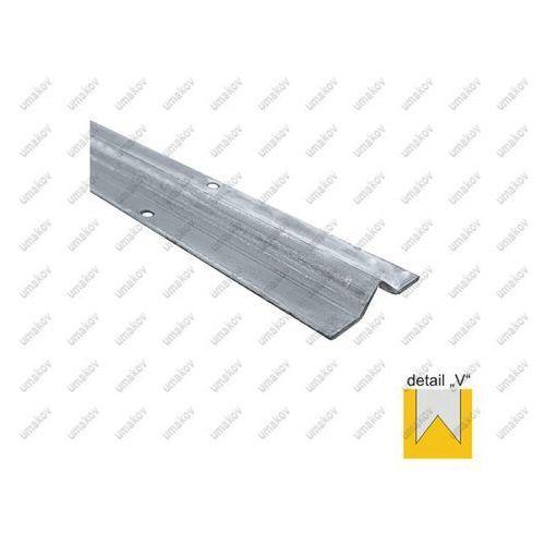 Umakov Prowadnica spodnia - v zn, 59,5x14,5mm, t3mm, l3m