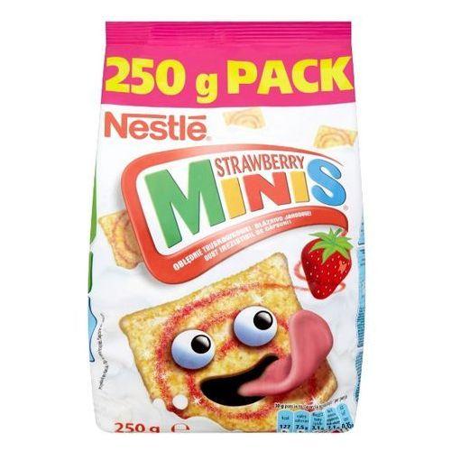 Płatki śniadaniowe nestlé strawberry minis 250 g marki Nestle