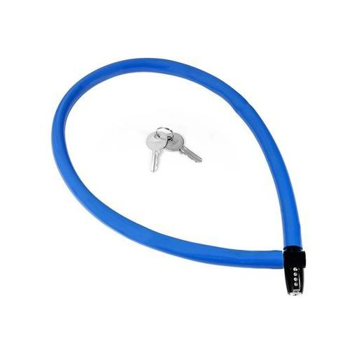 Zapięcie, linka Kryptonite Keeper 665 KC 6mm/65cm niebieski