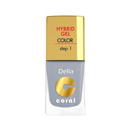 Delia hybrid gel step 1 08 jasna szarość żelowy lakier do paznokci