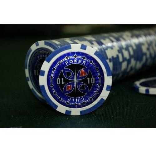 OKAZJA - Poker nominały żetonów 50 sztuk żetony do pokera nominał 0 marki 1