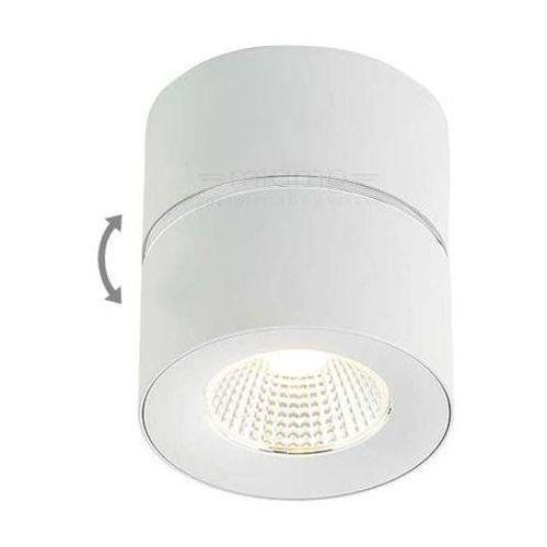 Spot LAMPA sufitowa MONE BIANCO Orlicki Design natynkowa OPRAWA metalowa LED 7W minimalistyczna tuba biała