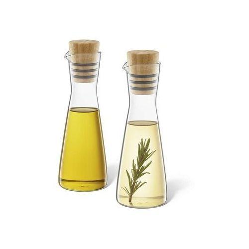 Zack - zestaw buteleczek szklanych na oliwę i ocet bevo