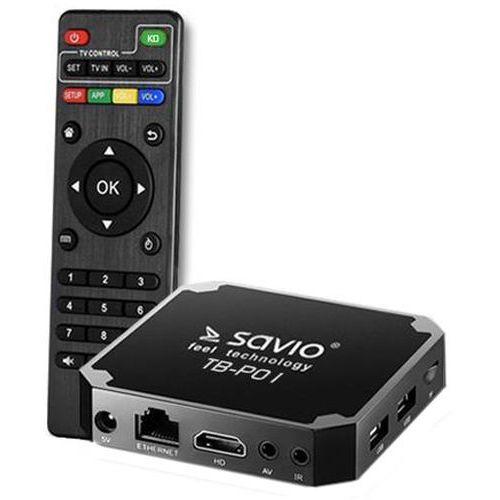 Savio Odtwarzacz multimedialny tb-p01 czarny