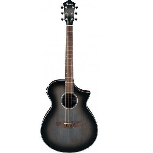 aewc11-tcb transparent charcoal burst high gloss gitara elektroakustyczna marki Ibanez