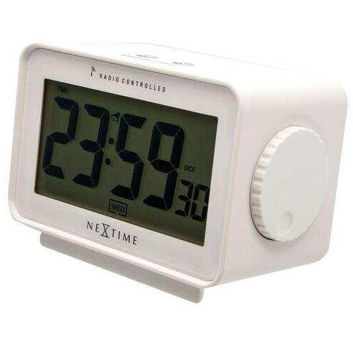 Budzik ze sterowaniem radiowym Easy Alarm Nextime biały (5202 WI)