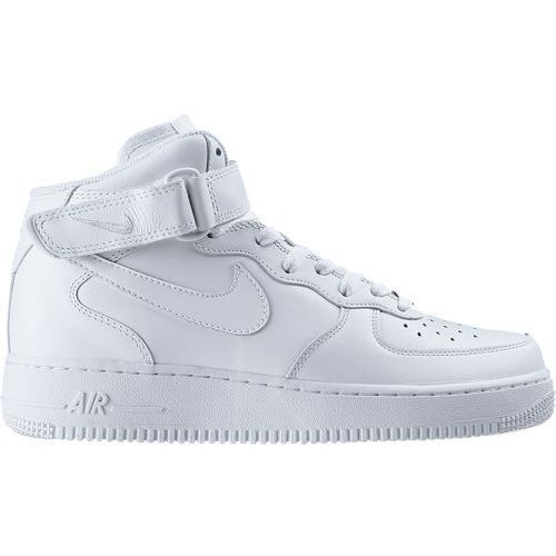 Buty  air force 1 mid gs all white - 314195-113 marki Nike