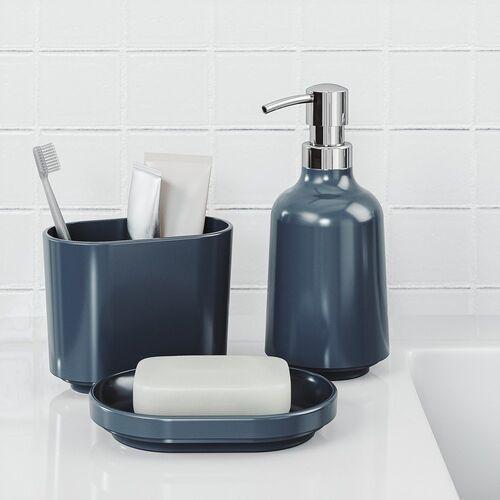 - dozownik do mydła step, ciemnoniebieski marki Umbra