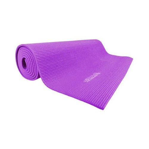 Insportline Mata do ćwiczeń jogi yoga 173x60x0,5 cm, szary