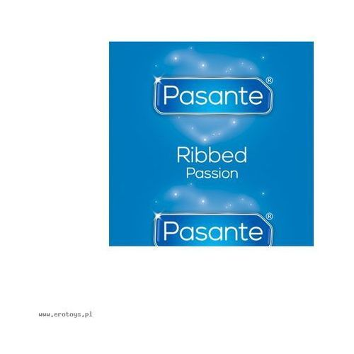 Pasante Ribbed/Passion Bulk Pack (144 szt.) (antykoncepcja i erotyka)