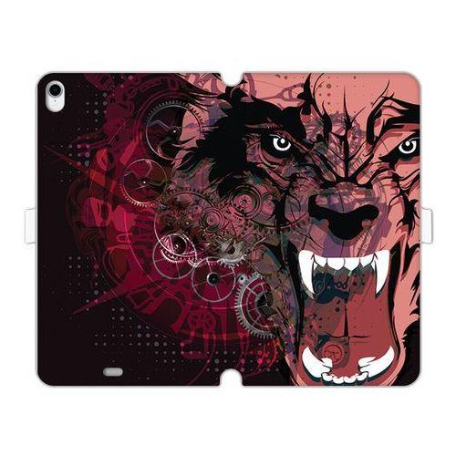 Apple iPad Pro 11 - etui na tablet Wallet Book Fantastic - wilkołak