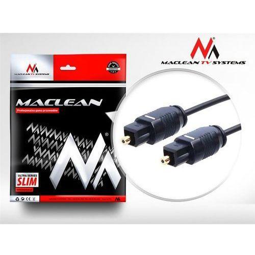 Maclean Przewód optyczny toslink slim 1m mctv-751