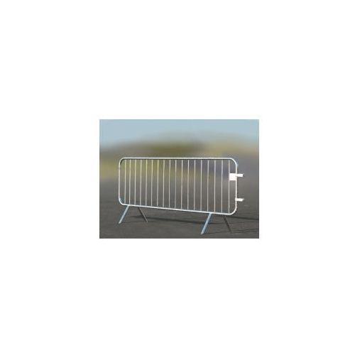 Barierka przenośna - długość 2500 mm, powierzchnia ocynkowana ogniowo