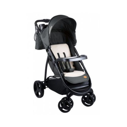 Lionelo wózek spacerowy elise dark grey - darmowa dostawa!!!