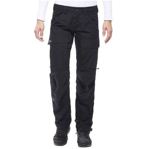 authentic spodnie długie kobiety czarny 38-krótkie 2018 spodnie turystyczne, Lundhags