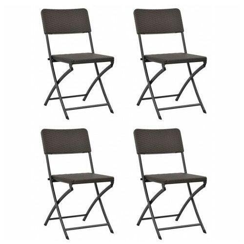 Komplet krzeseł na taras Otavio - 4 szt