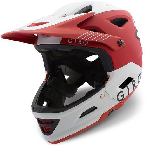 Giro switchblade mips kask rowerowy czerwony/biały l | 59-63cm 2018 kaski rowerowe