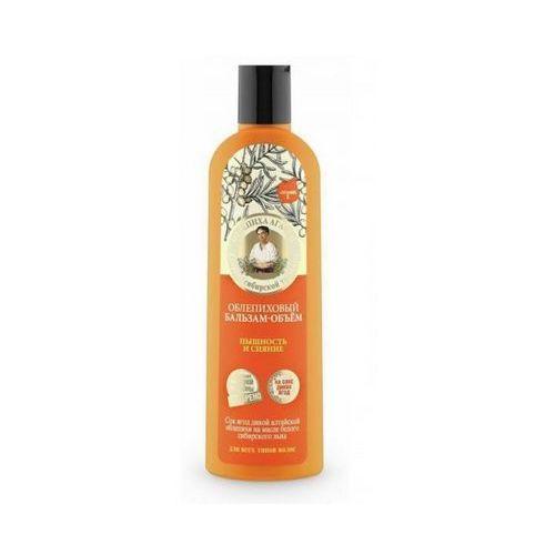 Babuszka agafia rokitnikowy balsam – objętość włosów - puszystość i blask 280ml marki Eurobio lab, estonia