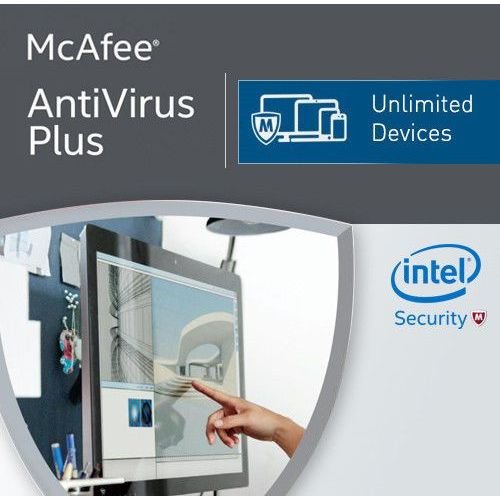 McAfee Antivirus Plus 2018 Unlimited