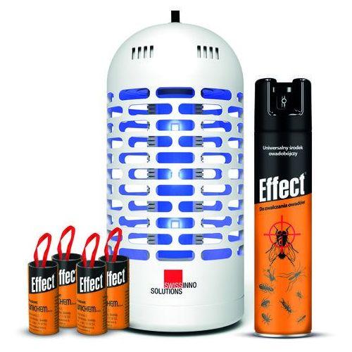 Lampa owadobójcza. Lampa na owady wisząca 20m2. (7640104972549)