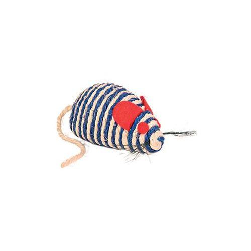 Trixie Mysz z sizalu 10cm [TX-4074] (4011905040745)