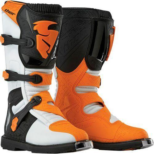 Buty męskie blitz white / orange 2016 + gratis skarpety thor mx sock marki Thor