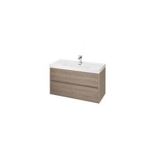 CERSANIT CREA Szafka 80 pod umywalki nablatowe, dąb S924-010 (5902115724367)
