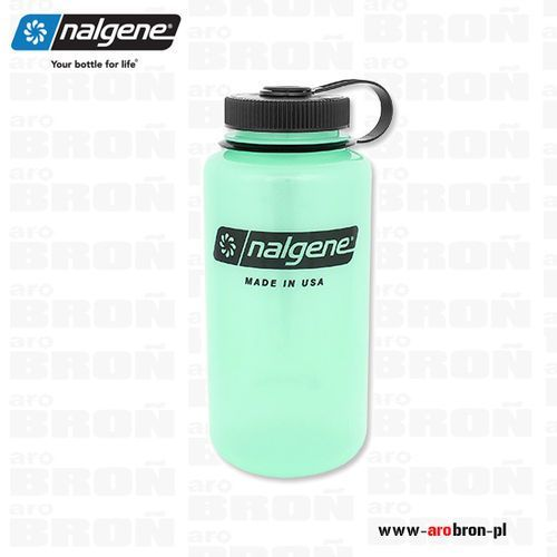 Butelka 1,1l – wide mouth, otwór 63mm, świecąca 2178-2031 marki Nalgene