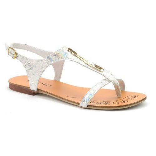 Sandały  128/1 srebrny marki Ravini