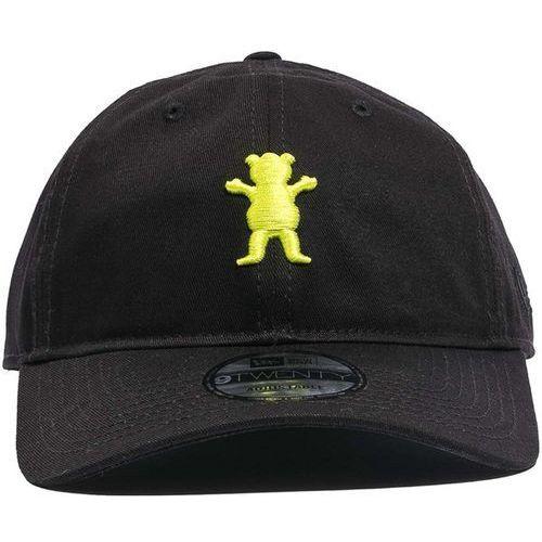 czapka z daszkiem GRIZZLY - Grizzly X Hulk Dad Hat Black (BLACK), kolor czarny