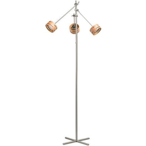 Regenbogen Lampka podłogowa led regulowane ramiona i drewniane obudowy megapolis (725040703) (4250369173792)