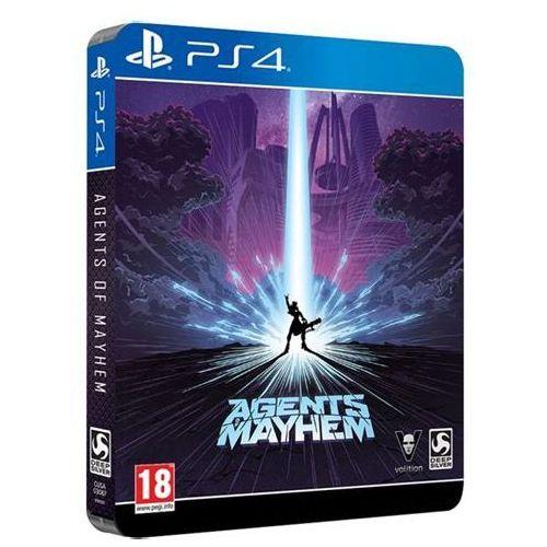 Agents of Mayhem D1 Steelbook Edition PL PS4