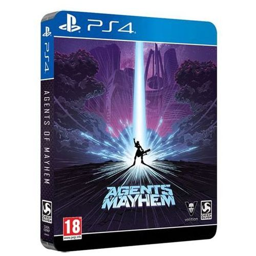 Volition Agents of mayhem d1 steelbook edition pl ps4