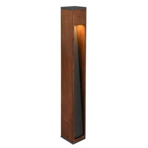 Trio canning 409660130 lampa stojąca zewnętrzna 1x5w gu10 kolor drewna (4017807492828)