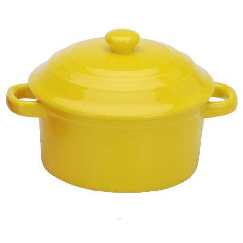 Garnek z pokrywką, naczynie żaroodporne, 280 ml