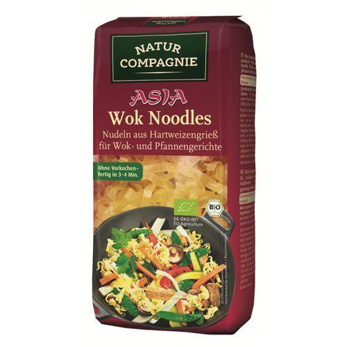 Makaron (semolinowy) wook noodles bio 250 g - natur compagnie, marki Natur compagnie (buliony, kostki rosołowe)