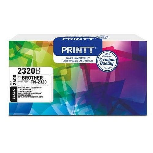 Toner printt do brother ntb2320b (tn-2320) czarny 2600 str. marki Ntt system