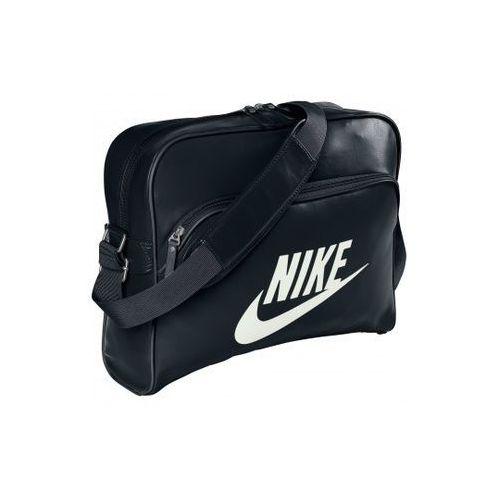 Nike Sportswear HERITAGE Torba na ramię black/black z kategorii Pozostała galanteria dziecięca
