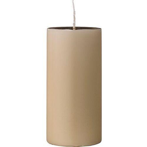 Bloomingville Świeca 15 cm beżowa (5711173115334)