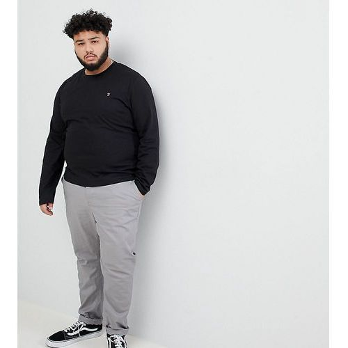 Farah Farris logo long sleeve t-shirt in black Exclusive at ASOS - Black, w 2 rozmiarach