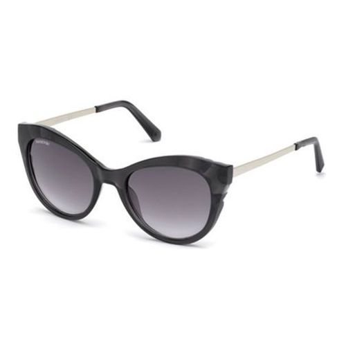 Okulary Słoneczne Swarovski SK0151 01B, kolor żółty