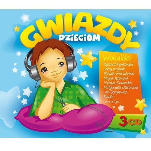 Agencja artystyczna mtj Gwiazdy dzieciom - wokaliści - różni wykonawcy (płyta cd) (5906409902165)