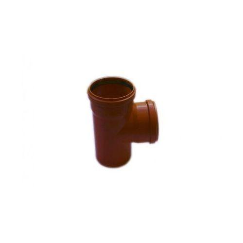 Poliplast Trójnik kanalizacji zewnętrznej 110 x 110 mm/90° (5907660708633)